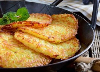 Crêpes de pommes de terre maison