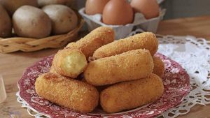 Croquettes de pomme de terre