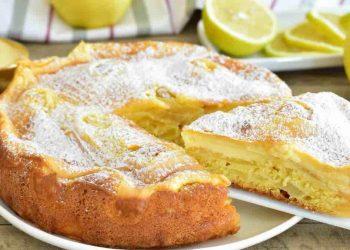 Moelleux aux pommes et citron
