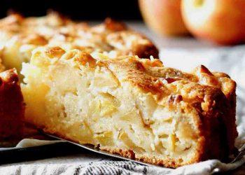 tarte aux pommes avec la pelure