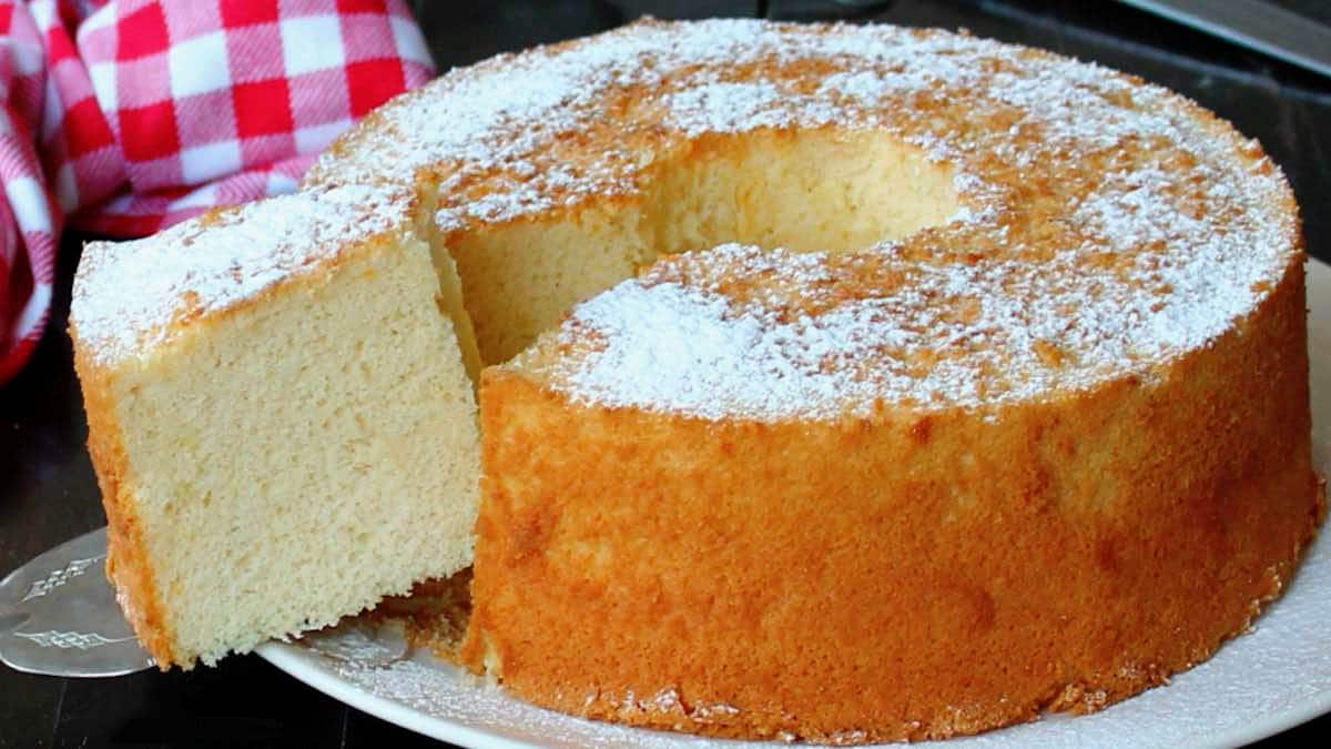 Gâteau mousseline citron
