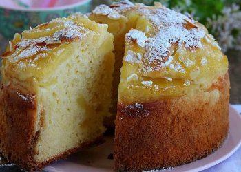 Gâteau à l'ananas et au yaourt