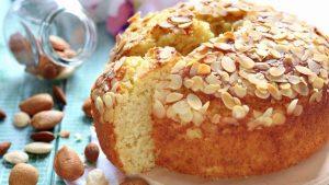 Gâteau 5 minutes à la ricotta et aux amandes