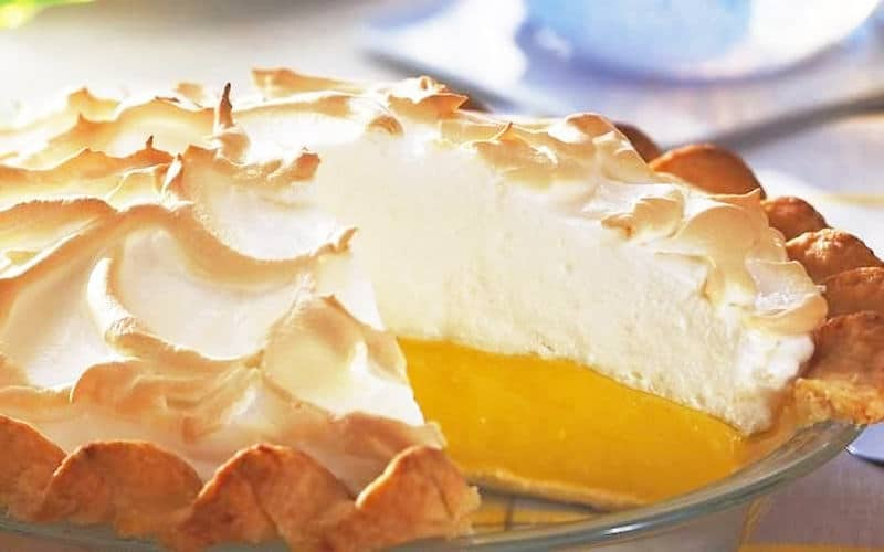 La Tarte au Citron Meringuée
