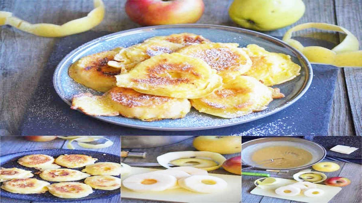 Beignets léger de pommes