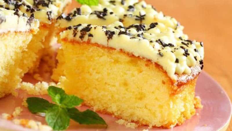 Gâteau moelleux au citron chocolat blanc