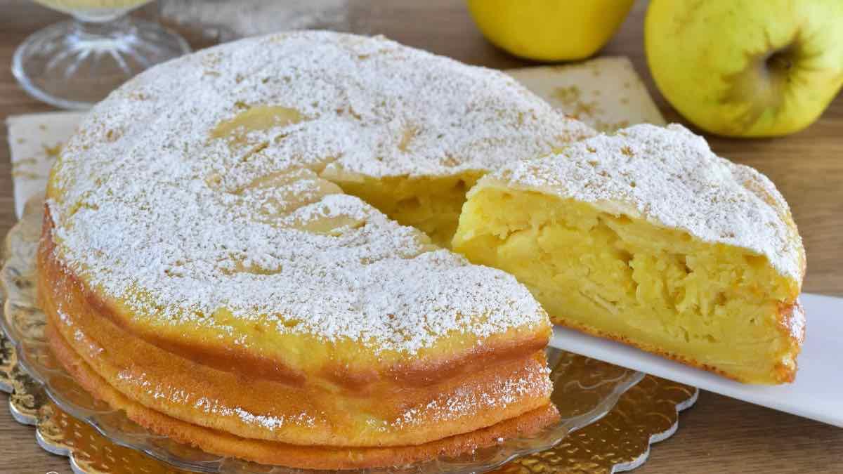 Gâteau au yaourt et aux pommes