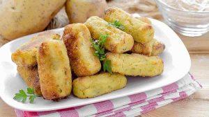 croquettes de pommes de terre au four