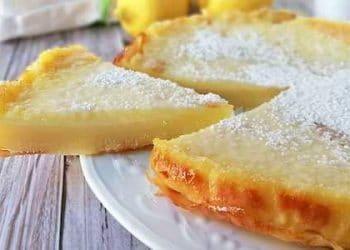 gâteau au citron crémeux sans farine ni beurre