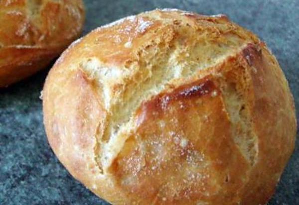 Petits pains rapides sans pétrissage