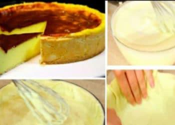 délicieux flan pâtissier: