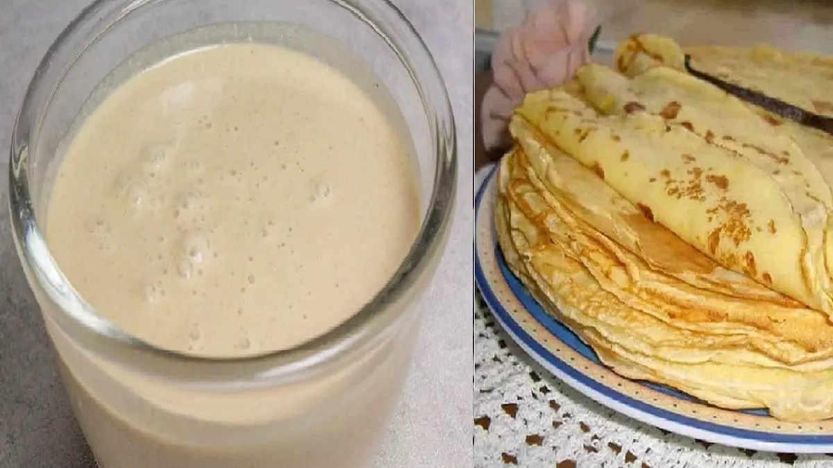 Pâte à crêpes rapide sans repos