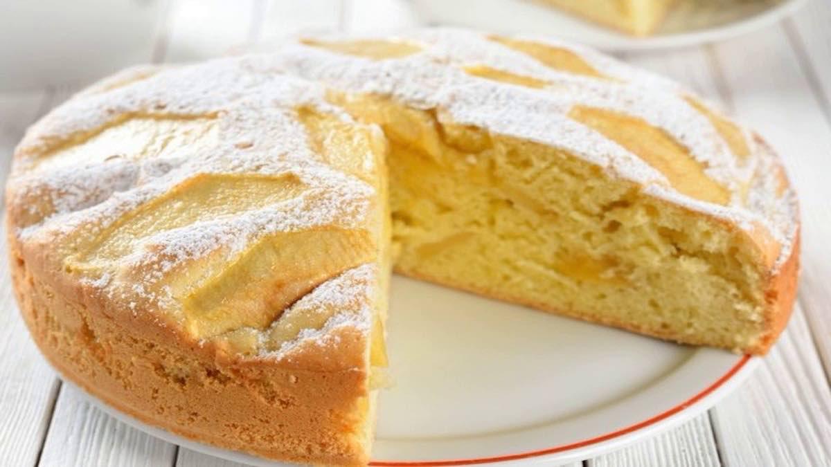 Magnifique gâteau aux pommes
