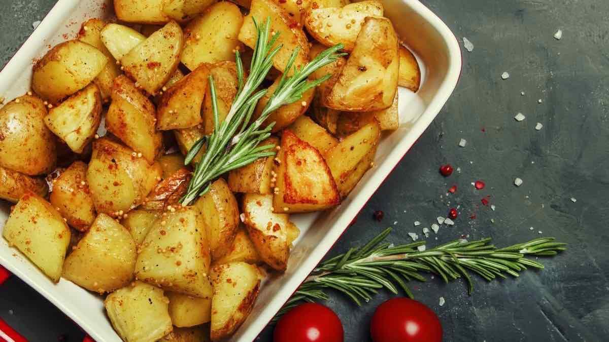 Pommes de terre au four croustillantes, simples et savoureuses