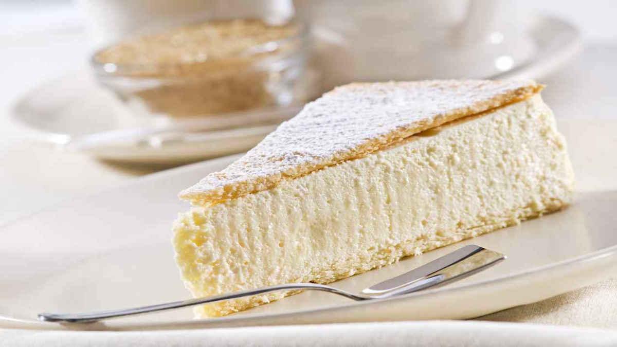 Gâteau mousse de neige