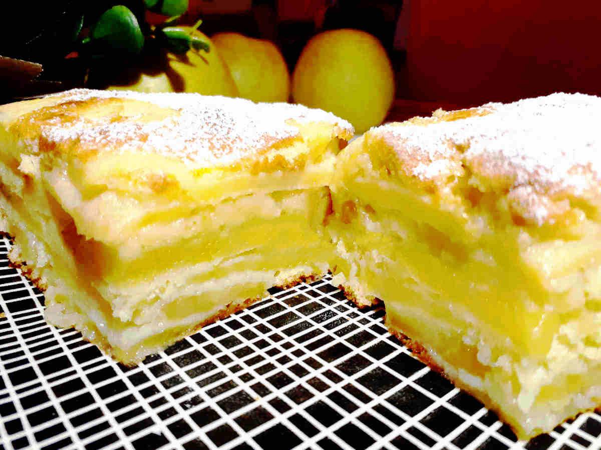 gâteau invisible aux pommes ww