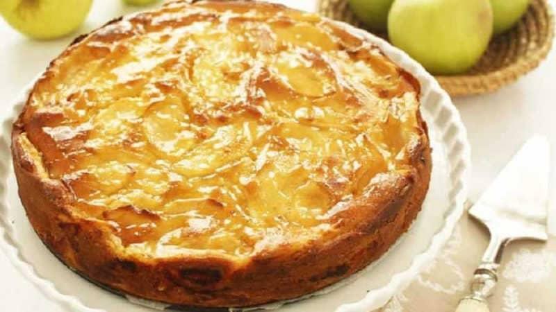 Cake aux pommes de grand-mère