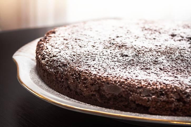 gâteau à l'eau et au cacao