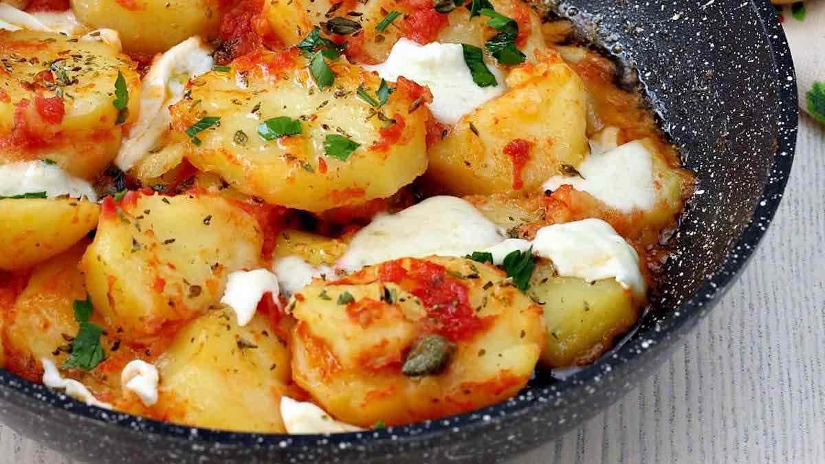 Pommes de terre poêlées
