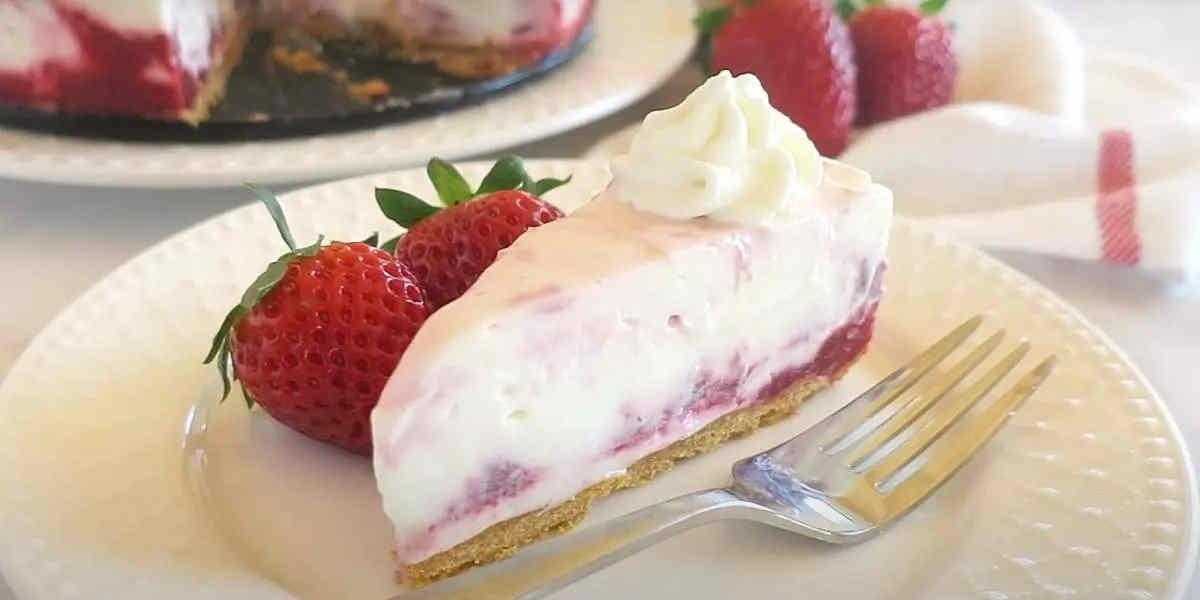 Gâteau mousse de fraise