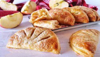 Chaussons aux pommes à la canelle