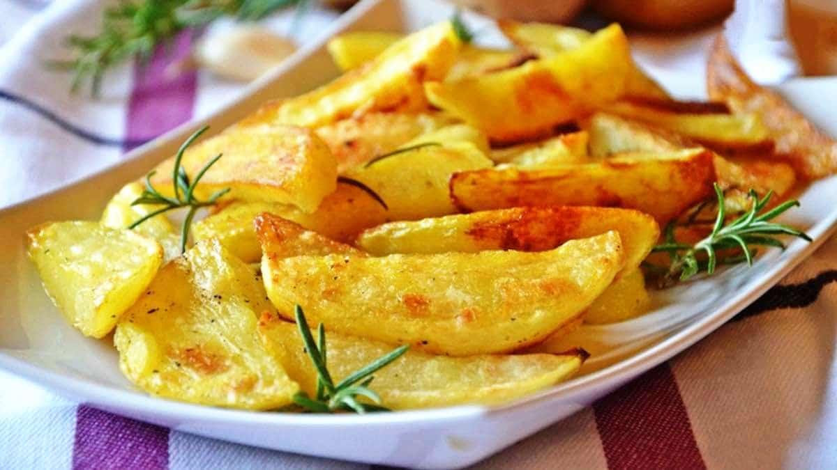 Pommes de terre croustillantes