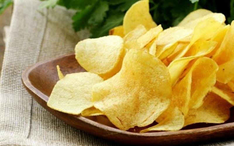 Chips maison croustillantes