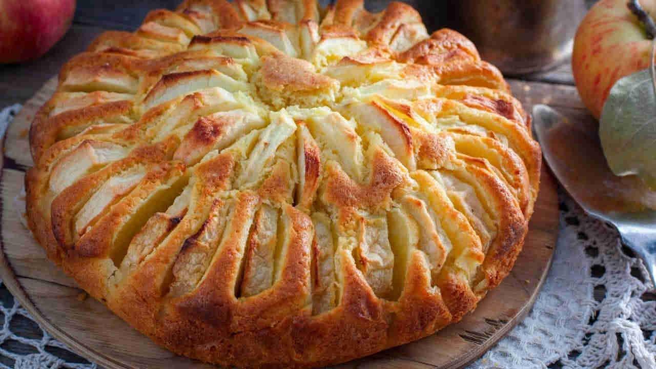 Gâteau aux pommes au yogourt ww