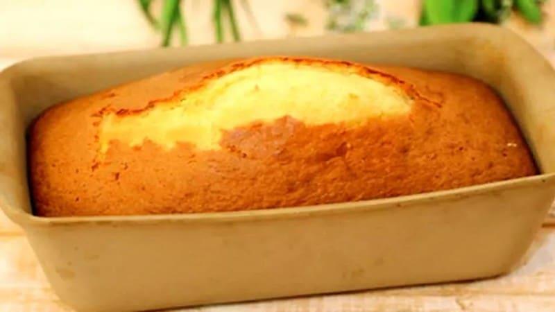 Cake au citron à la crème fraîche moelleux