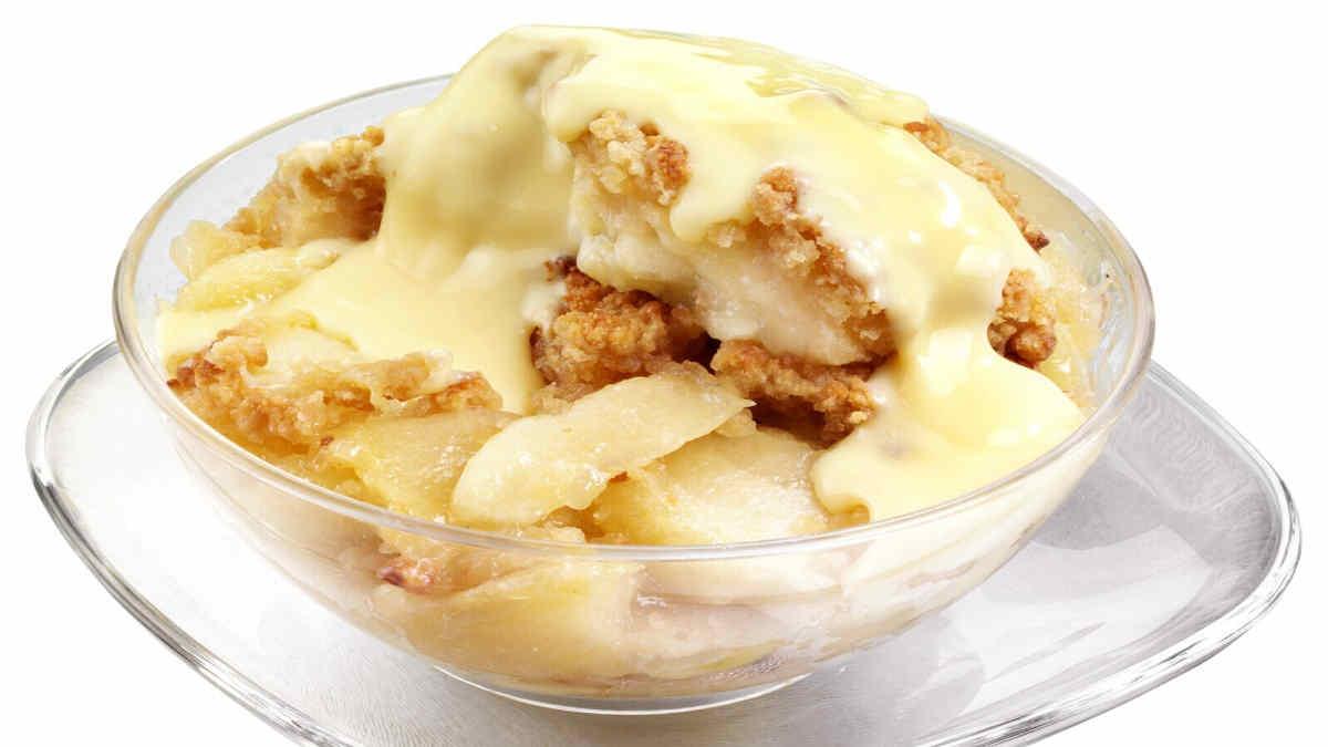 crème aux pommes