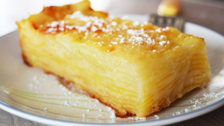 Gâteau invisible aux Pommes-Poires