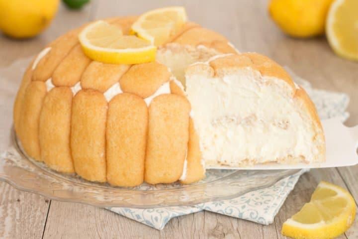 zuccotto au citron sans cuisson