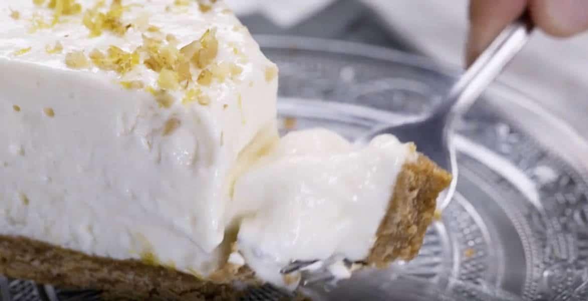 Cake au citron glacée