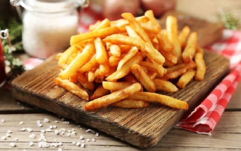 la recette légère des frites