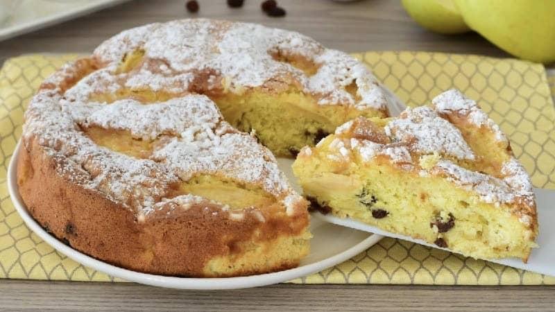 Gâteau aux pommes de grand-mère simple