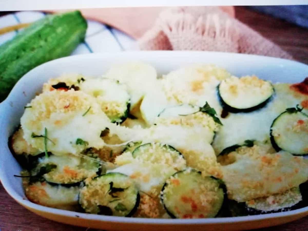 courgettes et pommes de terre au parmesan