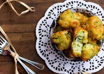 beignets de courgettes et mozzarella