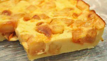 Gâteau-flan aux Pommes