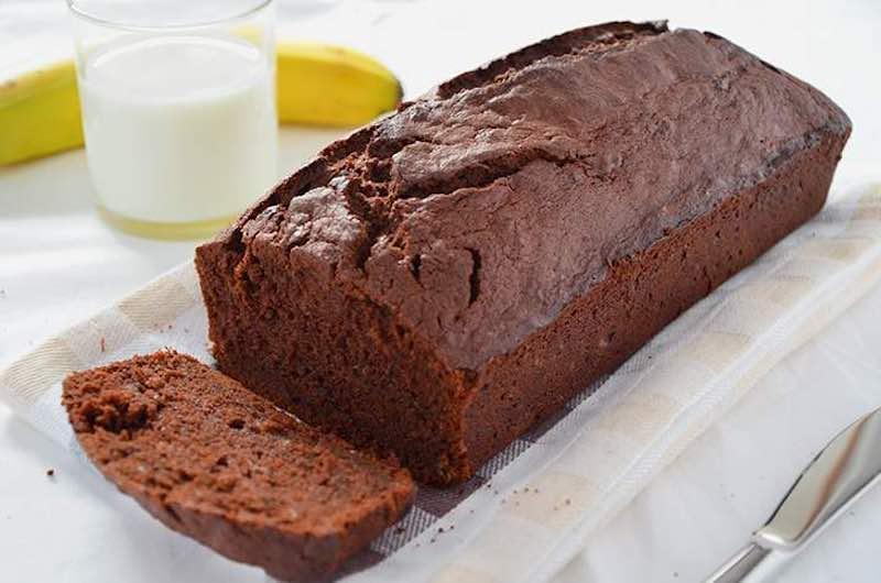 Gâteau aux bananes et au chocolat