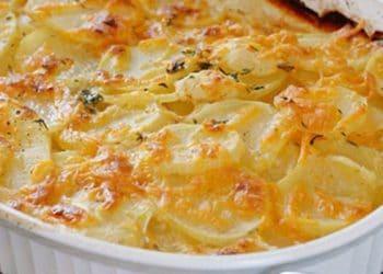 Gratin de Pommes de terre au parmesan