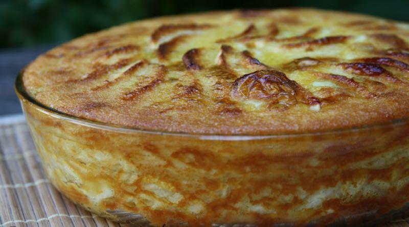 Le Gâteau onctueux aux pommes