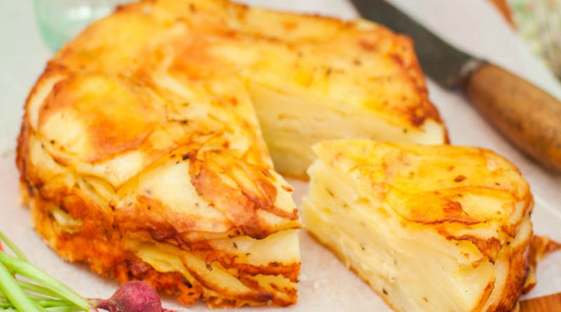 Gâteau de pomme de terre à l'italien