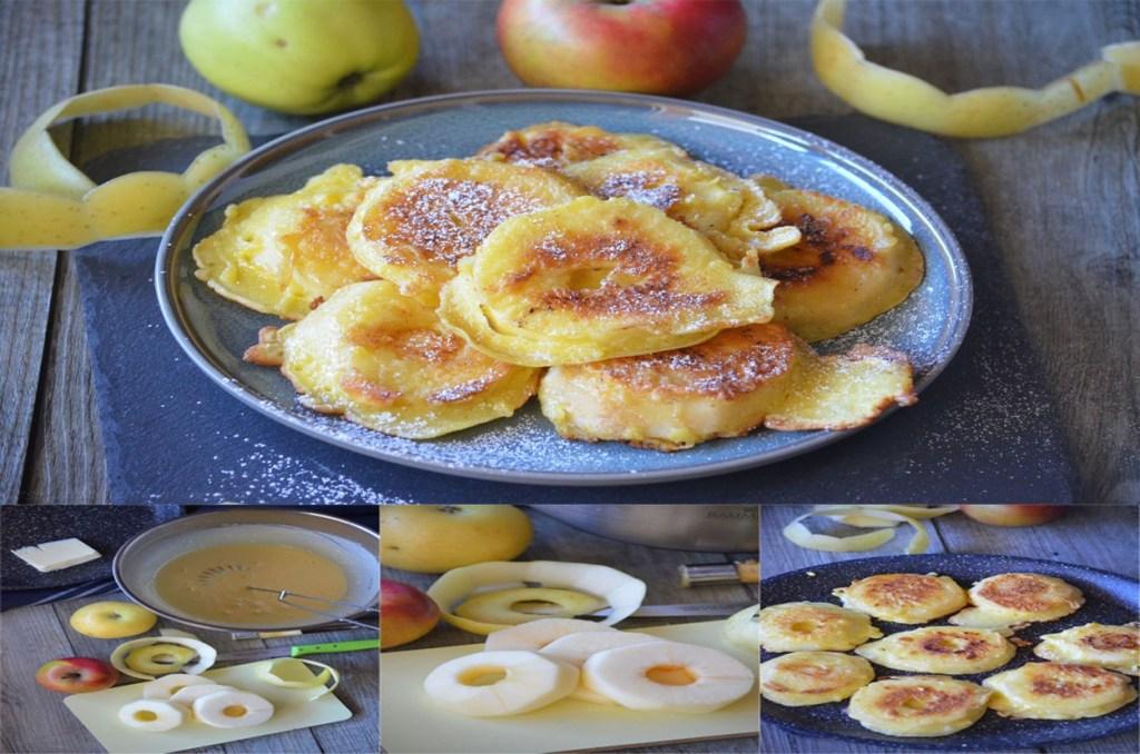 Beignets de pommes sans friture