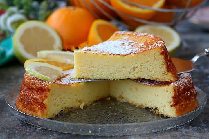 gâteau à la ricotta et aux agrumes