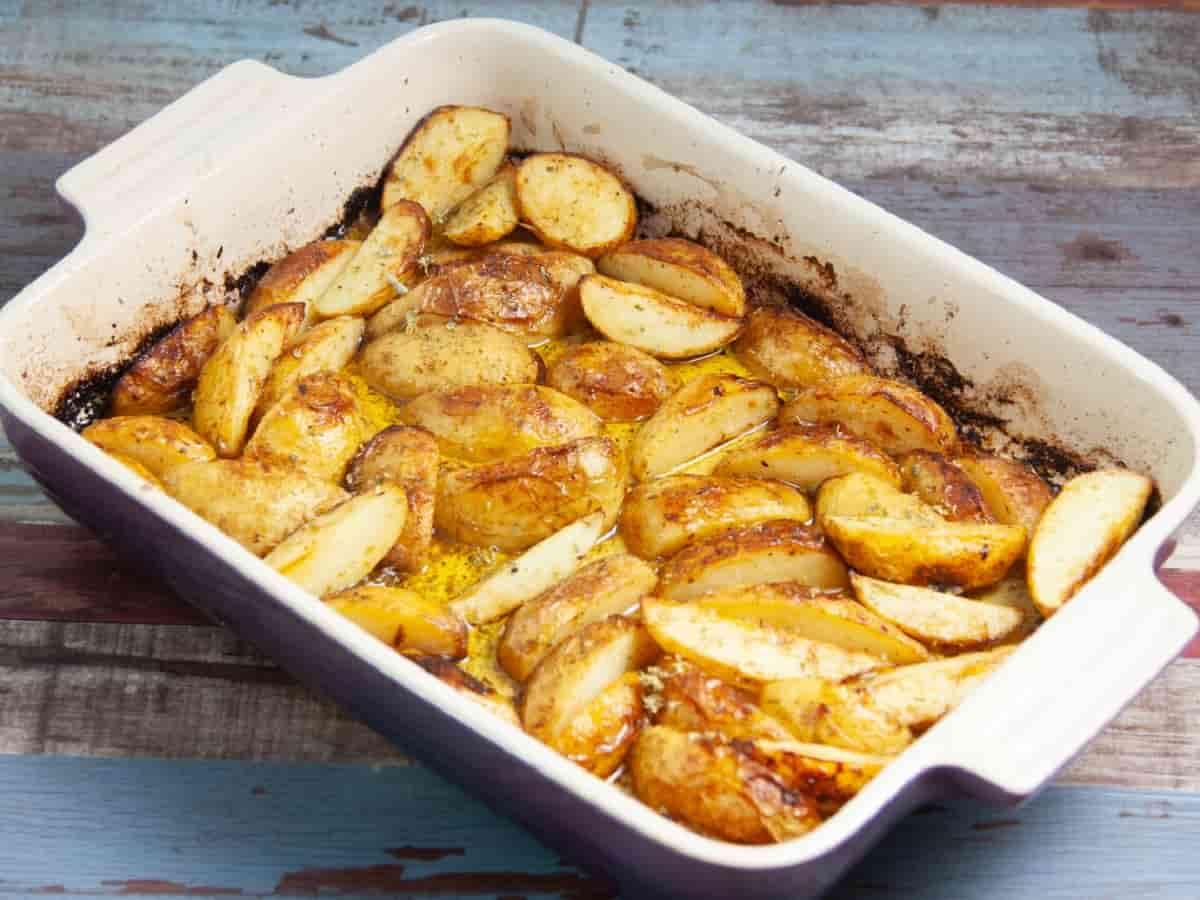 Gratin de Pommes de terre au citron