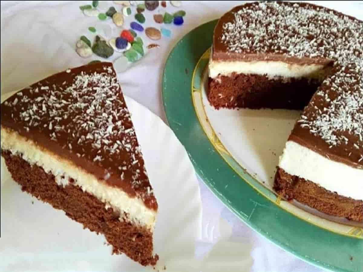 Gâteau crémeux à la noix de coco