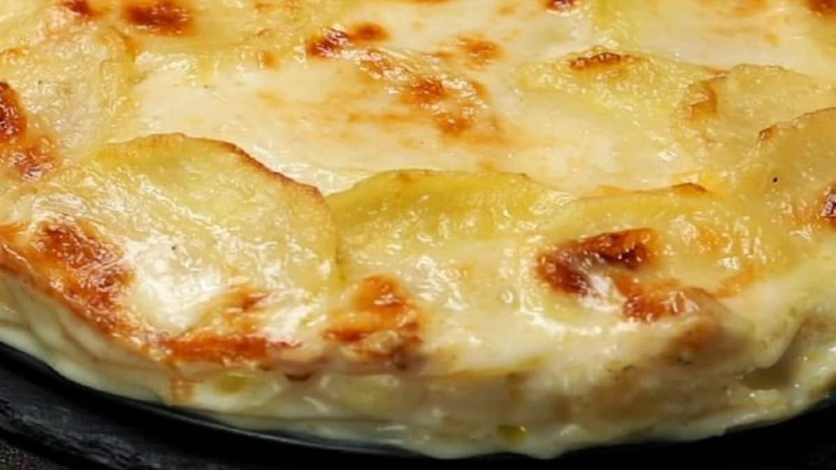 Gratin Pomme de terre blanche parmigiana