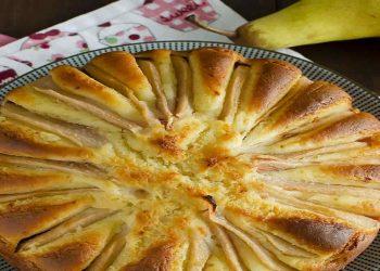 Gâteau aux poires et au fromage