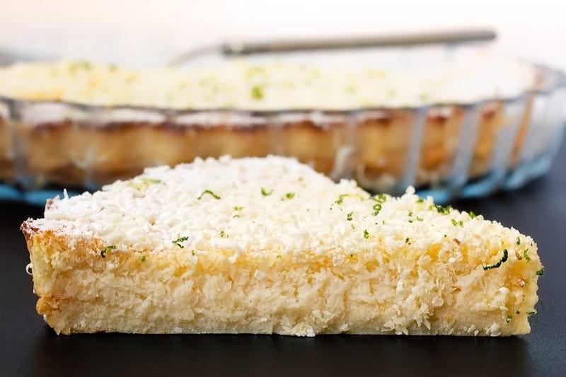 gâteau crémeux au citron