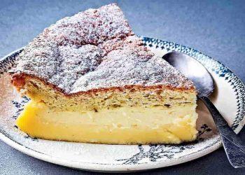 Un gâteau aux pommes